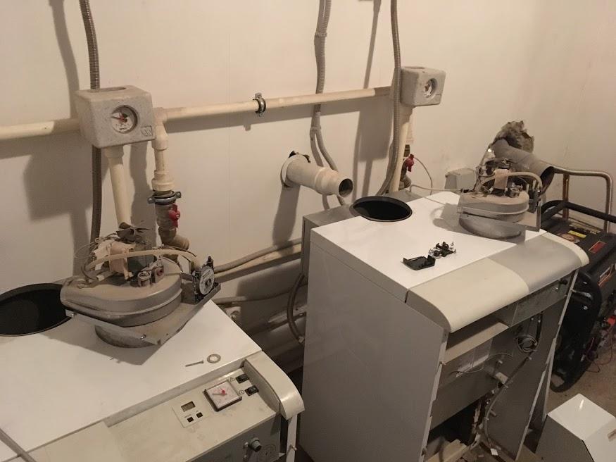 Обслуживание напольного газового котла Protherm Medved